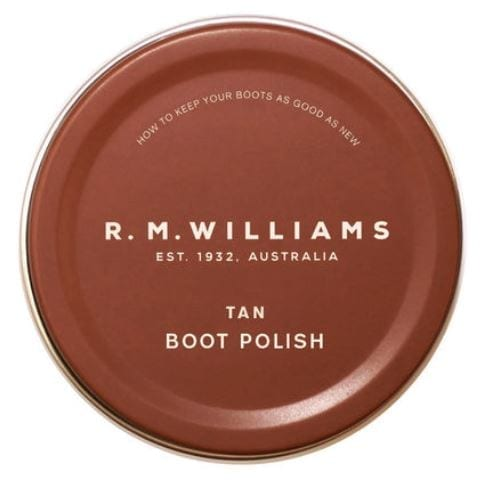 RM Williams Boot Polish Tan