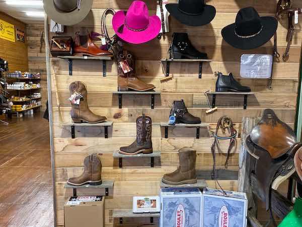 Simon Martin Boots & akubra hats